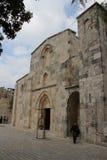 圣安妮教会,烈士教会在耶路撒冷,内部细节 免版税库存图片