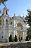 圣安妮牧师会主持的教堂在Wilanow (华沙,波兰) 库存图片