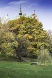 圣安妮,华沙,波兰教会  库存照片