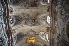 圣安妮` s教会在克拉科夫在波兰 图库摄影
