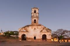 圣安娜教会-特立尼达,古巴 免版税图库摄影