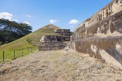 圣安德烈斯废墟在萨尔瓦多 库存照片