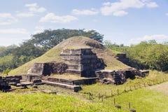 圣安德烈斯废墟在萨尔瓦多 免版税库存图片