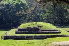 圣安德烈斯废墟在萨尔瓦多 免版税图库摄影