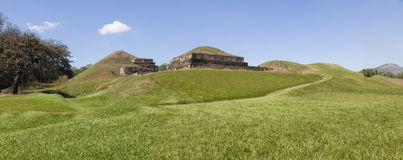 圣安德烈斯废墟在萨尔瓦多 库存图片