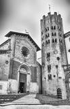 圣安德里亚,奥尔维耶托,意大利中世纪教会  免版税图库摄影
