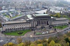 圣安德鲁房子爱丁堡苏格兰 库存照片