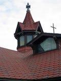 圣安德鲁斯沙丘教会-南安普敦, NY 库存照片