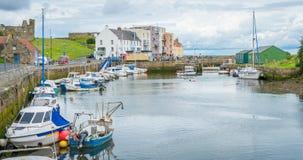 圣安德鲁斯港口,苏格兰 免版税库存图片