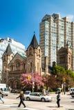 圣安德鲁斯长老派教会在多伦多 免版税库存图片