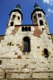 圣安德鲁的教会在克拉科夫 免版税库存图片