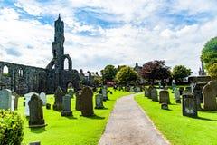 圣安德鲁,苏格兰,英国, 2016年9月17日 圣安德鲁废墟  免版税库存照片