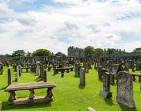 圣安德鲁,苏格兰,英国, 2016年9月17日 圣安德鲁废墟  库存图片