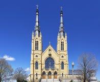 圣安德鲁` s教会在罗阿诺克,弗吉尼亚 库存图片
