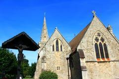 圣安德鲁& x27; s教会,成交肯特英国 免版税库存图片