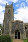 圣安德鲁` s教会, Walberswick 免版税库存照片