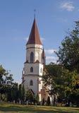 圣安那中世纪天主教会  库存图片