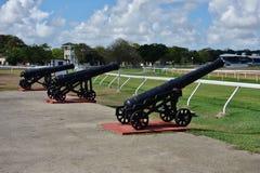 圣安驻军历史的地区在巴巴多斯 图库摄影