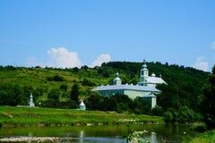 圣尼古拉修道院在穆卡切沃 免版税库存照片