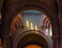 圣尼古拉大教堂内部在摩纳哥 免版税库存照片