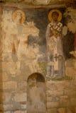 圣尼古拉教会(迈拉) -壁画 库存图片