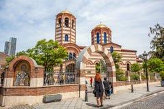 14 05 2017 - 圣尼古拉斯东正教在巴统 共和国  免版税库存图片