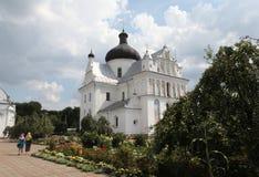 圣尼古拉斯修道院复合体 迟来的 图库摄影