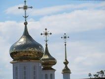 圣尼古拉斯修道院萨拉托夫地区 免版税库存图片