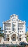 圣尼古拉斯大教堂在摩纳哥 库存照片