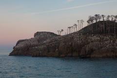 圣尼古拉斯岛在莱克蒂奥巴斯克地区 免版税库存图片