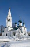 圣尼古拉斯教会。 Yaroslavl 免版税库存照片