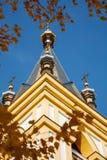 圣尼古拉斯教会在柯达Dnipro中 免版税库存图片