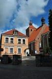 圣尼古拉斯教会在Grudziadz 库存照片