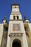 圣尼古拉斯教会布拉索夫,罗马尼亚 库存图片