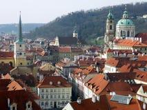 圣尼古拉斯教会,一点镇,布拉格 免版税库存图片