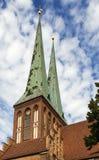 圣尼古拉斯教会,柏林 免版税库存图片