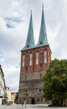 圣尼古拉斯教会,柏林 库存照片