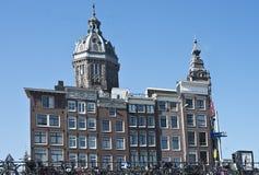 圣尼古拉斯教会,阿姆斯特丹 图库摄影
