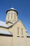 圣尼古拉斯教会, Narikala堡垒,第比利斯圆顶  库存照片