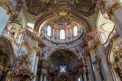 圣尼古拉斯教会& x28; Kostel svatého Mikulà ¡ Å ¡ e& x29; 库存照片