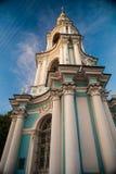 圣尼古拉斯的大教堂, Nikolsky sobor在圣彼得堡 库存图片