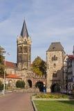 圣尼古拉斯, Eisenach,德国教会  库存照片