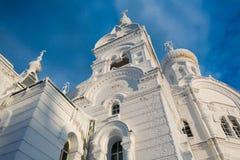 圣尼古拉斯Belogorsky修道院在俄罗斯 库存图片