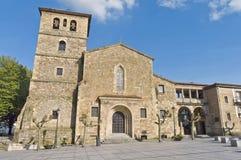 圣尼古拉斯de巴里在阿维莱斯,西班牙 库存图片