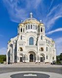 圣尼古拉海军大教堂  免版税库存照片