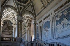 圣尼古拉竞技场-卡塔尼亚西西里岛意大利本尼迪克特的修道院内部  库存图片