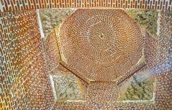 圣巴巴拉教会砖圆屋顶在开罗,埃及 库存照片