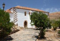 圣布埃纳文图拉方济会修道院,贝坦库里亚,费埃特文图拉岛 免版税库存图片