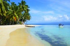圣布拉斯海岛 库存照片