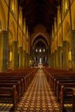 圣帕特里克墨尔本` s大教堂  免版税库存照片
